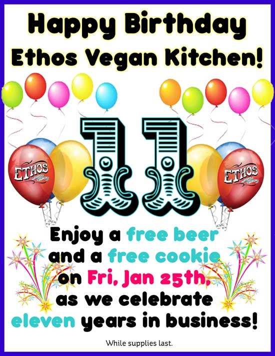 Ethos Birthday