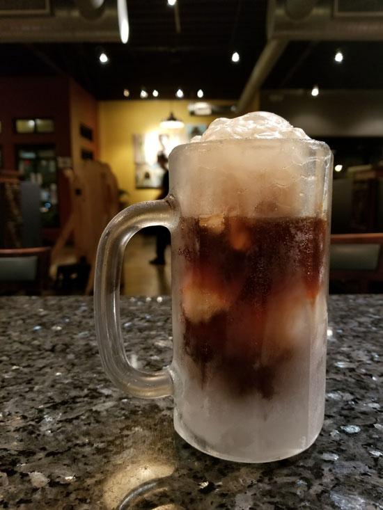 Ethos Root Beer Float